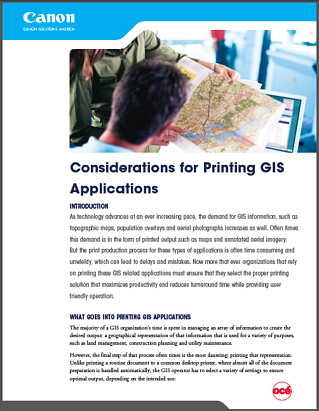 Map Plotter Considerations For Printing GIS - Map plotter free