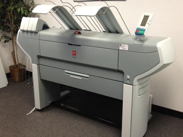Oce wide format printers in Houston TX