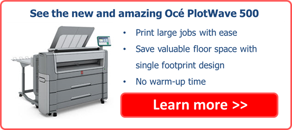 see the new Oce PlotWave 500 CTA
