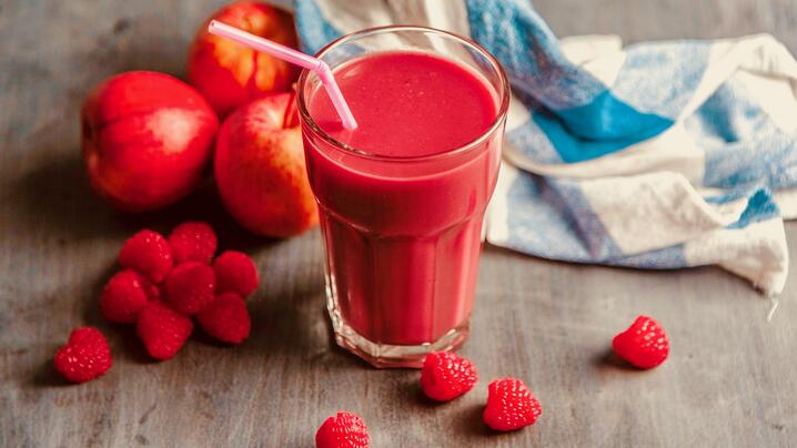 Not Into Green Smoothies? Try Superfruit Juice with GO RED Powder!