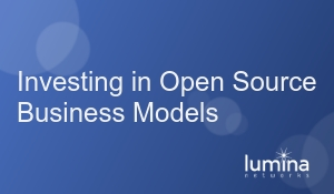 Investing in Open Source Business Models