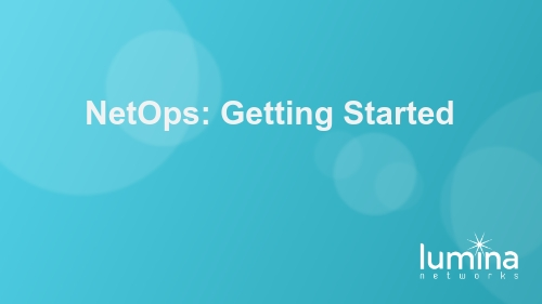 NetOps-Getting-Started