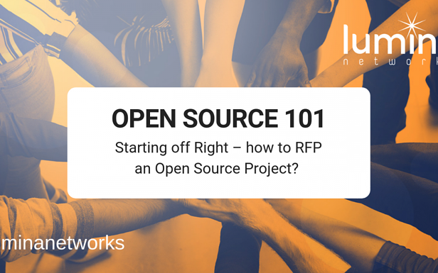 Open Source 101-How to RFP an Open Source Project