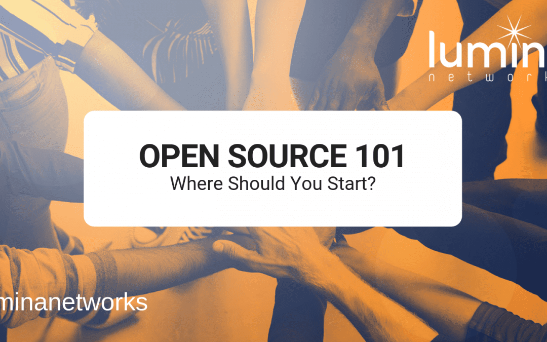 Open Source 101-Where Should You Start