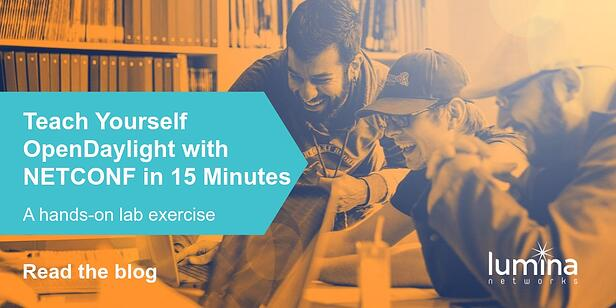 Teach Yourself OpenDaylight with NETCONF in 15 Minutes