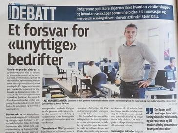 Norges beste møtebooker i Finansavisen