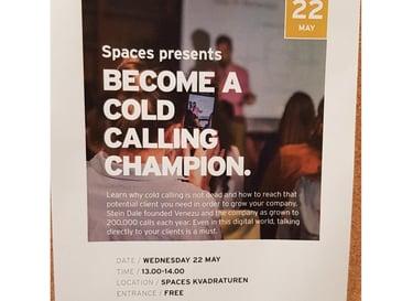 Venezu er Norges ærligste og beste møtebooker. Seriøs og langsiktig som partner. Cold Calling Champ