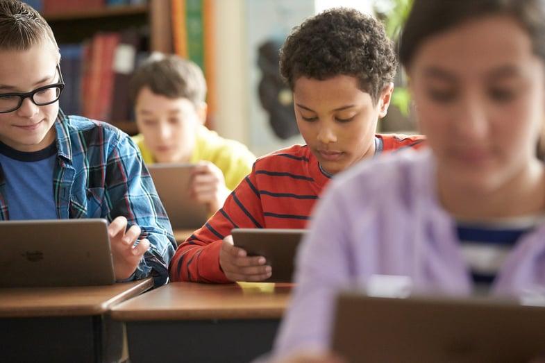 Self-service till iPad ökar elevernas säkerhet