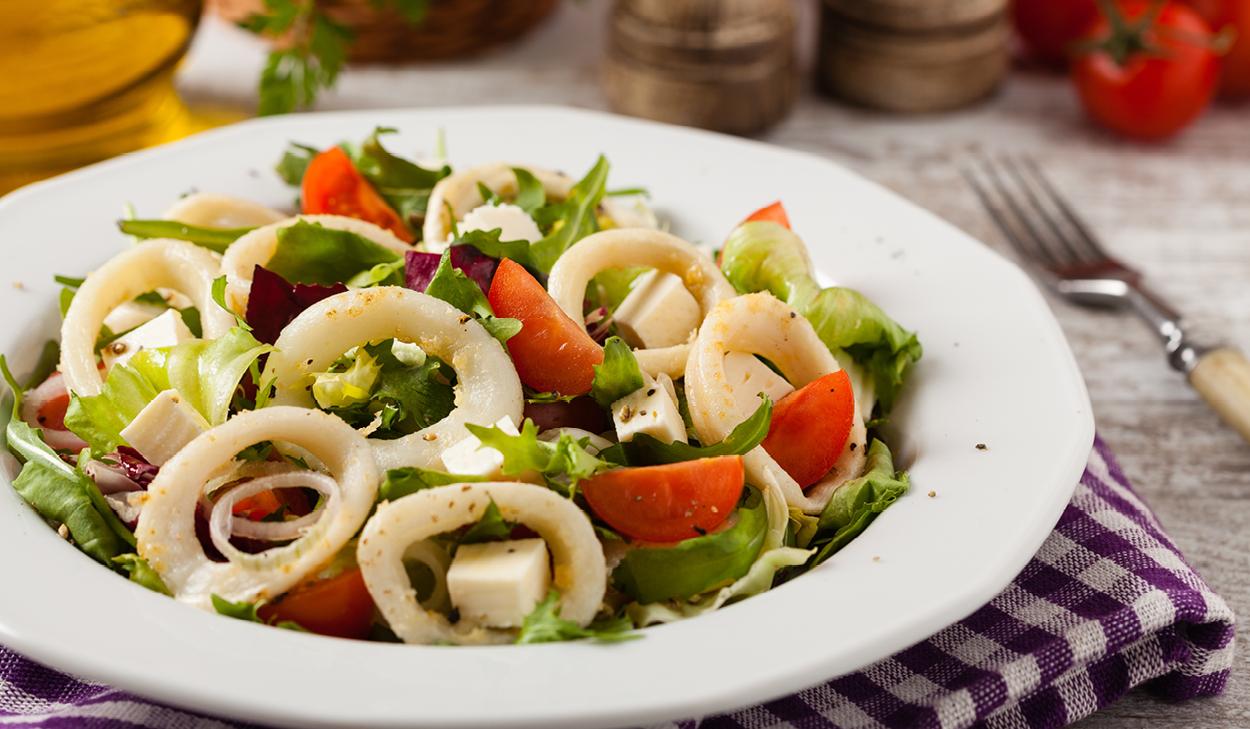 Recipe: AJ's Calamari Salad