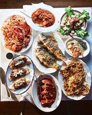 Feast of the Seven Fishes (festa dei sette pesci)