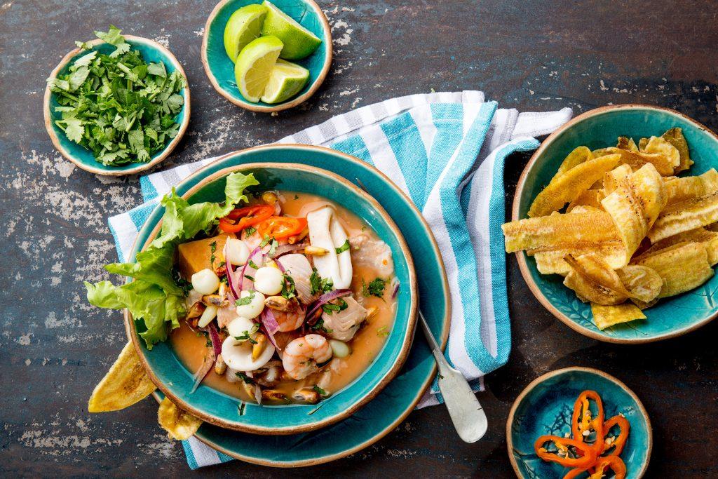 Recipe:Calamari Ceviche