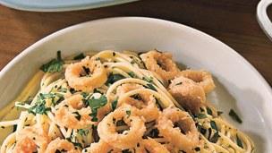 Recipe:Amalfi Calamari Pasta