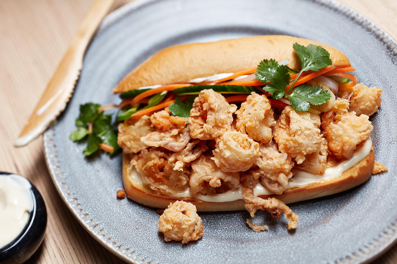 Recipe:Calamari Banh Mi