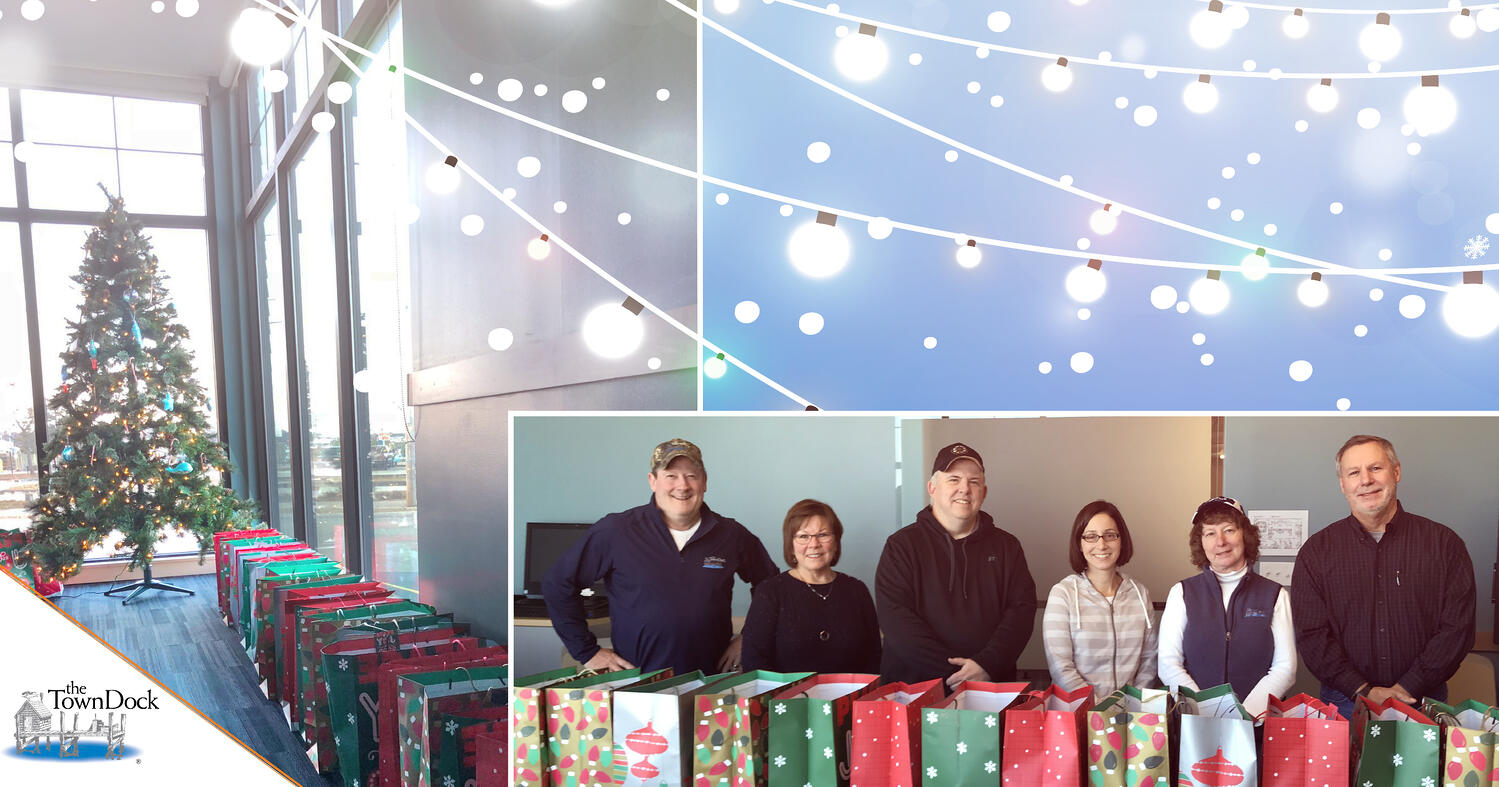 The Town Dock Gathers Gifts for Those in Need