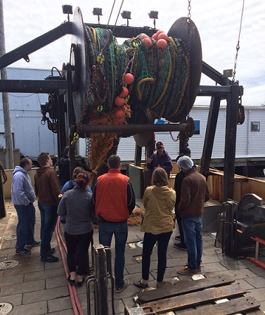 JWU Students Tour The Town Dock