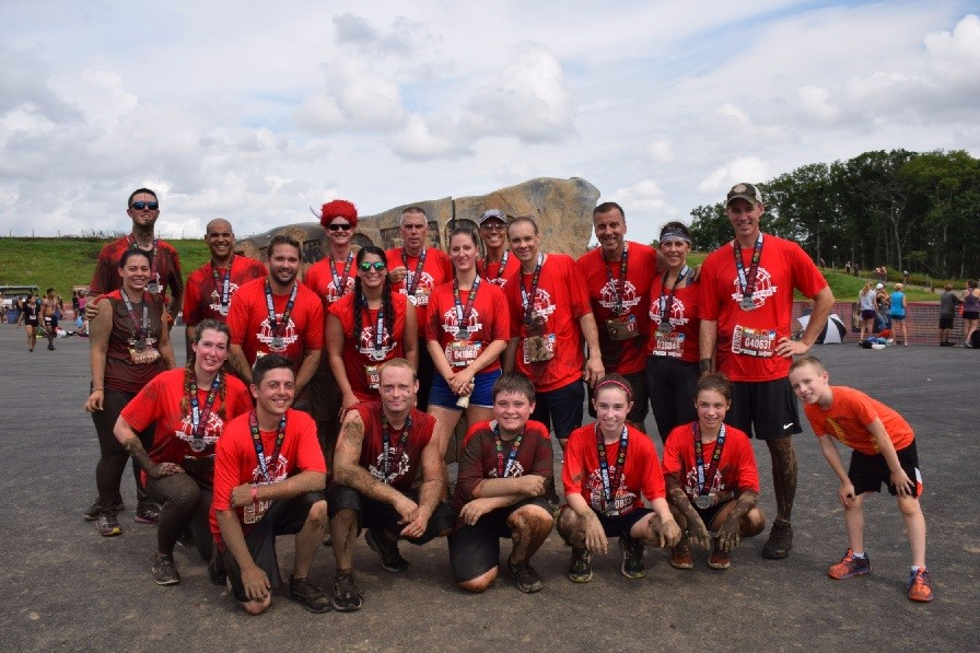 The Town Dockers Take on The Warrior Dash