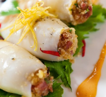 Recipe: Grilled Chorizo-Stuffed Calamari