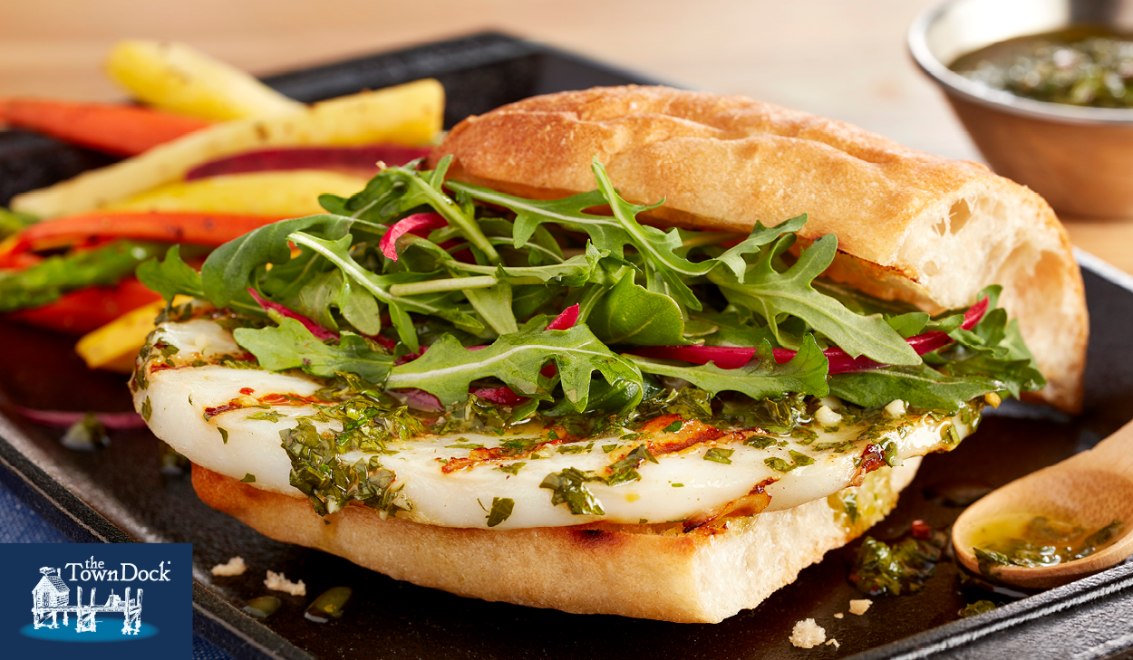 Recipe: Chimichurri Calamari Steak Sandwich