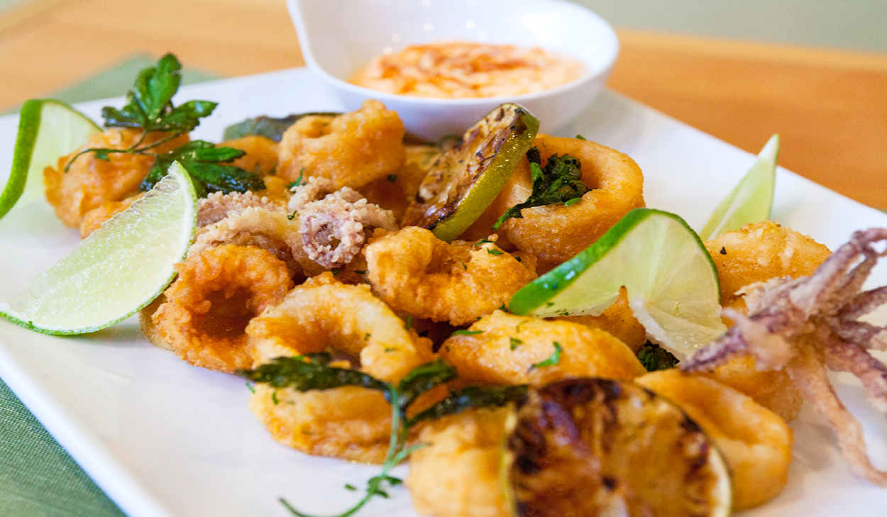 Recipe: California Popcorn Calamari