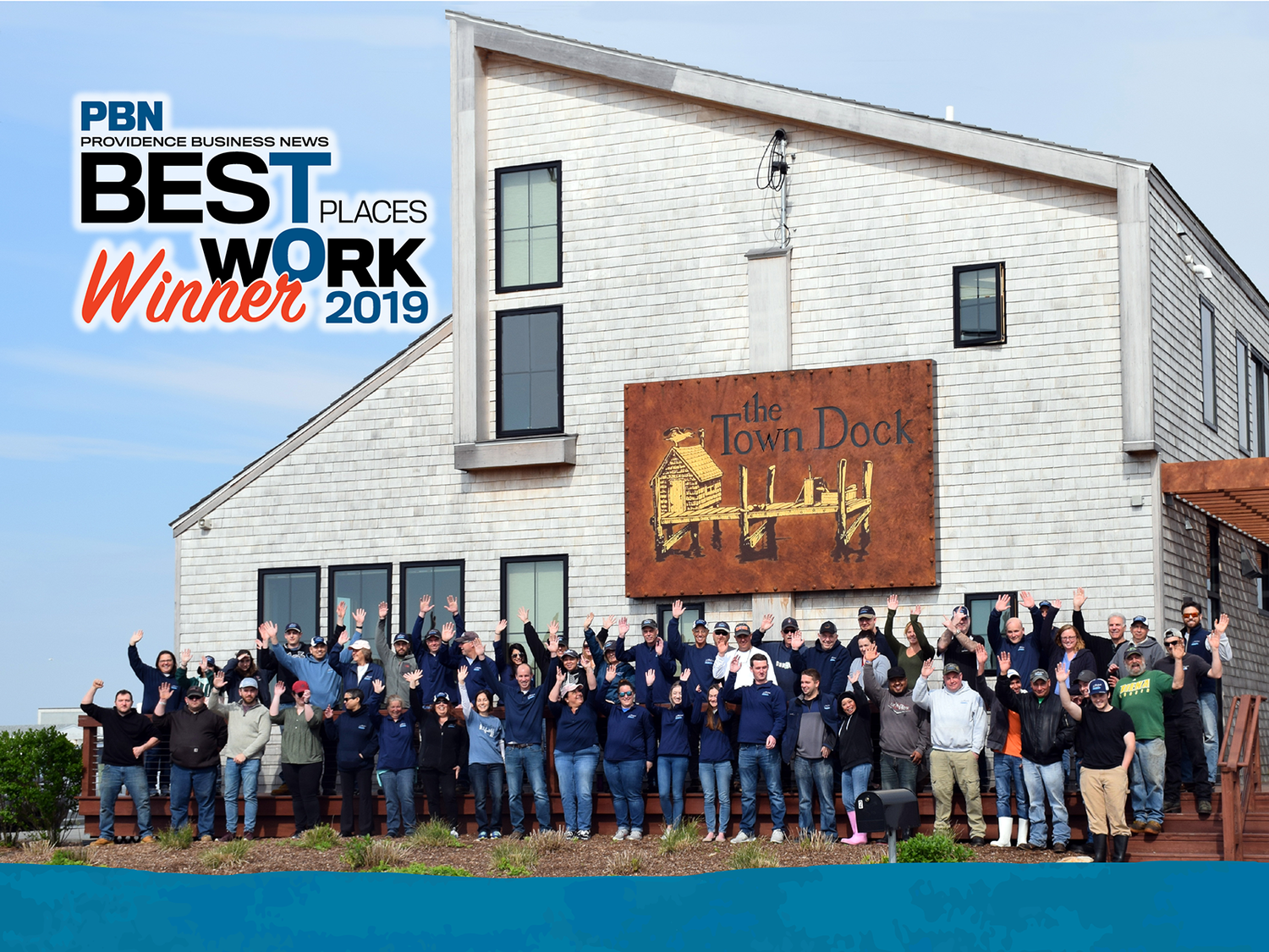 The Town Dock Named Best Place to Work for the Second Year in a Row