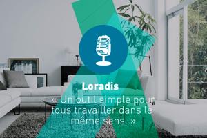 Salon, Loradis