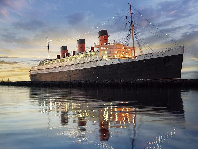 The Queen Mary is Cruising With GEC2