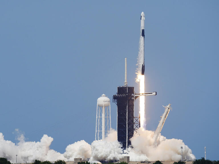 SpaceX Launches First Astronauts to Orbit from U.S. Since 2011