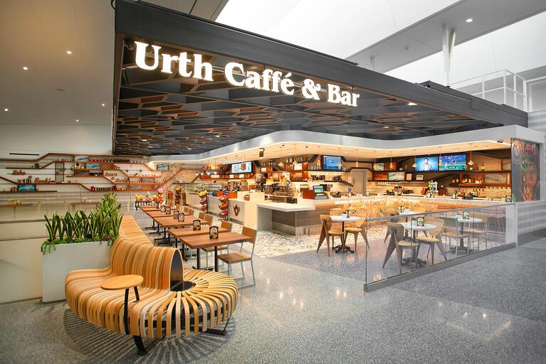 GEC2 Has Their Morning Coffee With Urth Caffé & Bar