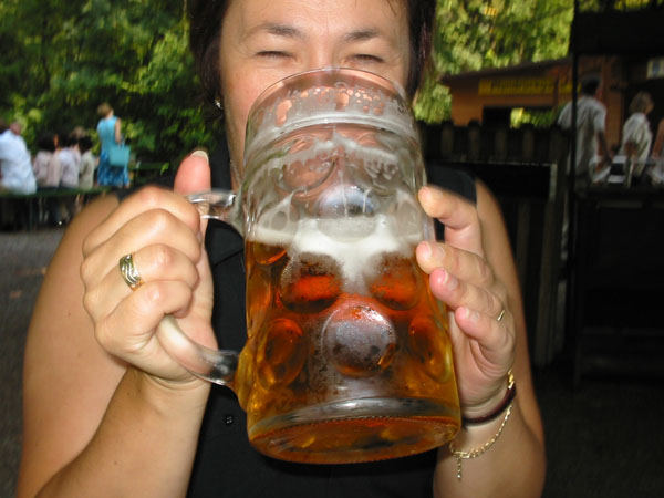 fight the beer belly during Oktoberfest