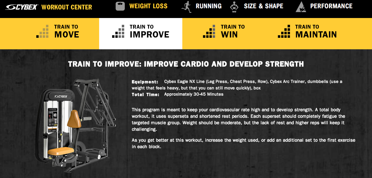 Improve Cardio and Develop Strength