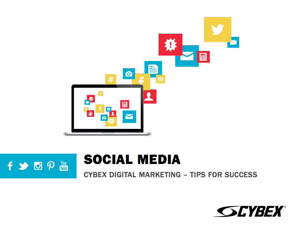 Social Media Best Practices ebook from Cybex