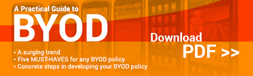 Craft your BYOD Policy with A Practical Guide to BYOD