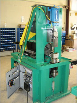 Custom ChamferMate Pipe Beveling and Deburring Machine