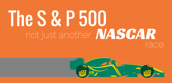 The S&P 500, Federal Employee Retirement, and NASCAR