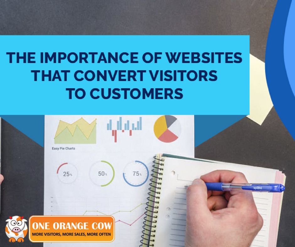 The Importance of Websites that Convert Visitors to Customers