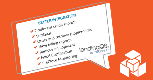 LendingQB Integration Better than Ever