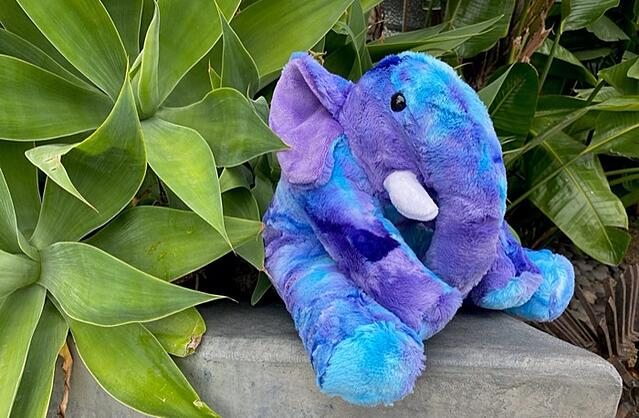 how to sew an elephant stuffed animal