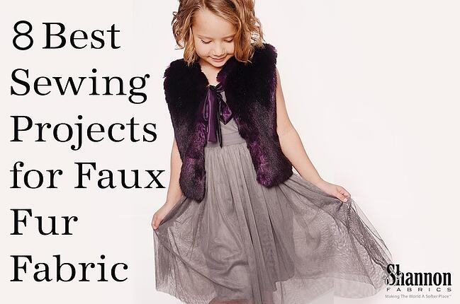 Best Sewing Projects and Uses for Faux Fur Fabric
