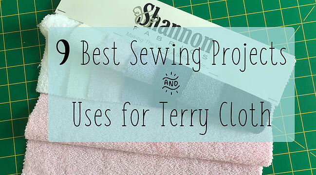 projects for terry cloth