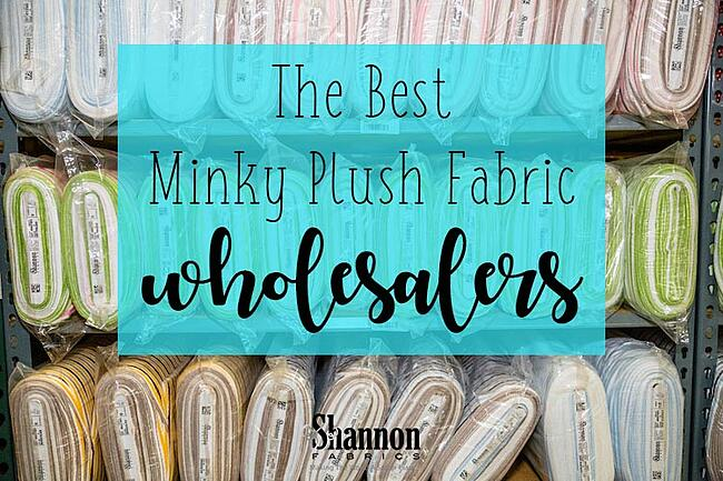 best minky wholesalers