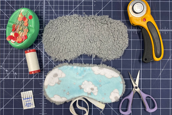 How to Sew a Sleep Mask (with Pattern and Video Tutorial)