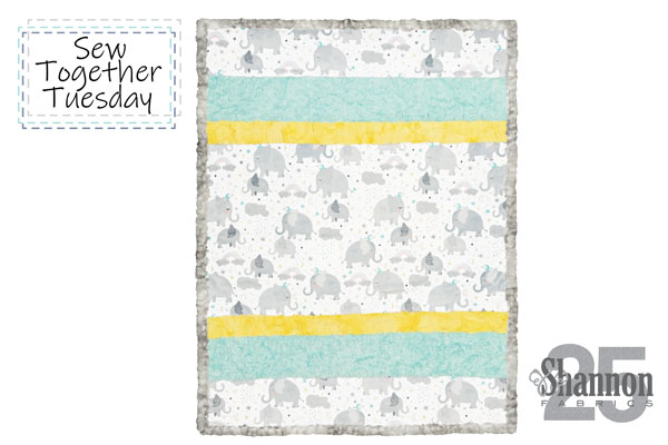 how to sew a strip quilt with pattern