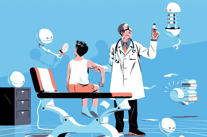 Uses of AI in the Healthcare industry