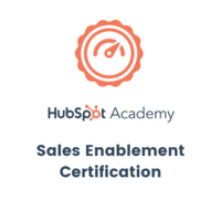 Hubspot - Sales Enablement Certification