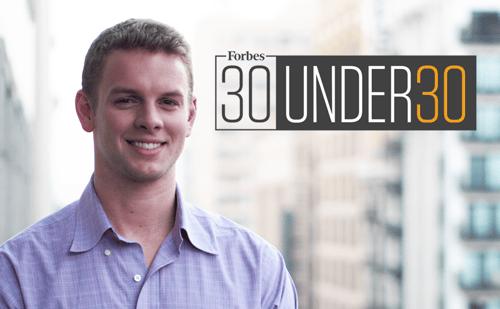 IRIS.TV Co-Founder, Richie Hyden, Named to Forbes Magazine 30 Under 30