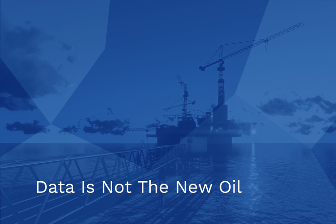 Data is not the new oil