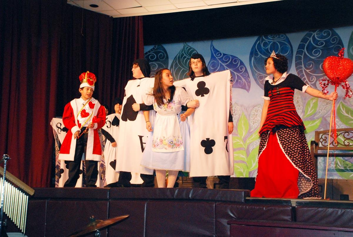 Alice in Wonderland JR., 2011