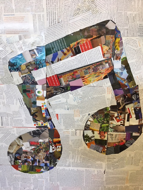 Collage musical notes