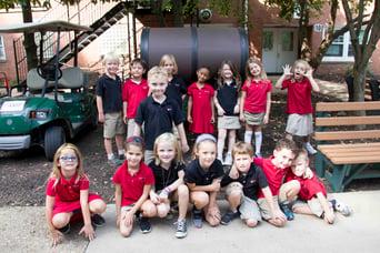 1st grade composting