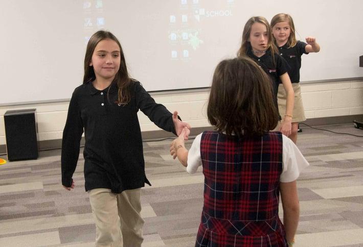 3rd grade folk music dance education